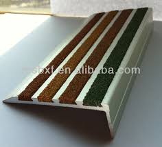 anti slip treads for wooden stairs pvc stair nosing heavy duty