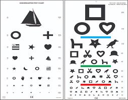 printable eye chart for children printable maps