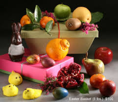 Easter Baskets Delivered Gourmet Easter Fruit Baskets Delivered Manhattan Fruitier