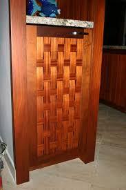 Cabinet Door Basket Koa Kitchen