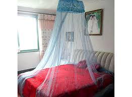 Lace Bed Canopy Light Blue Dome Spangle Palace Lace Bed Canopy Mosquito Net Hk