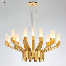 Beautiful Gold Chandelier Modern Oval Modern Black And Gold