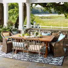 wicker patio furniture on sale farmhouse patio furniture finds house of hargrove