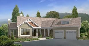 cabin house plans with attached garage home deco plans
