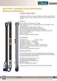 wall mount pdu arion pdu intelligent power distribution monitored pdu series