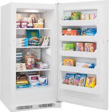 frigidaire fffu14m1qw 14 0 cu ft freestanding upright freezer