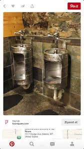 Men Bathroom Ideas by Best 25 Rustic Urinals Ideas Only On Pinterest Outhouse Ideas