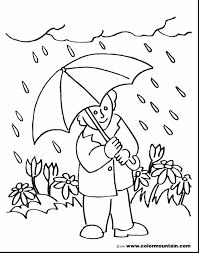 amazing rainy day coloring page gallery throughout pages itgod me