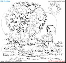 good coloring pictures of apple trees page with apple tree