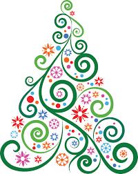 abstract christmas tree clip art abstract christmas tree clipart