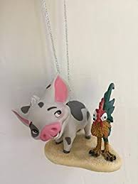 amazon com hallmark disney moana maui christmas ornament home