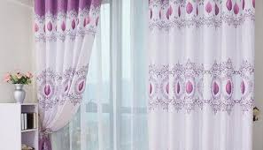 Purple Curtains Ikea Decor Curtains Purple Curtains Heart Opening Blackout Curtains