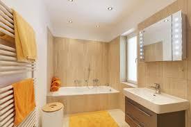 Orange Bathroom Rugs Bathroom Color Spotlight Orange