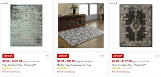 target 40 off area and accent rugsliving rich with coupons