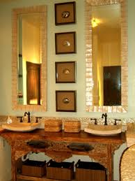 mirror in the bathroom ritz carlton dining room bass tab arafen red bathroom decor pictures ideas tips from hgtv golden sophistication designer lamps best bookshelf