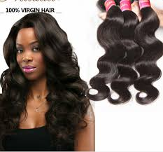 wave sew in 3 bundles 7a malaysian wave hair weave remy sew in