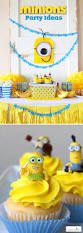 Despicable Me Halloween Decorations Minions Party Ideas Despicable Me Birthday Homemade Minion Craft