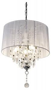 Shabby Chic Lighting by Shabby Chic White Thread Crystal Table Lamp Chandelier