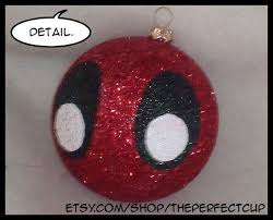 marvel comics inspired decorated shatter resistant ornament