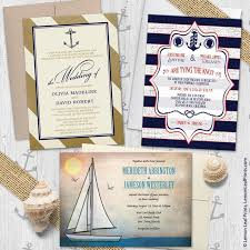 nautical themed wedding invitations sailing or nautical themed wedding invitations