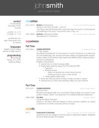 Sample Resume For Internship In Computer Science by Latex Templates Curricula Vitae Résumés
