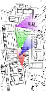 baths of caracalla floor plan memory and movement in the roman fora from antiquity to metro c
