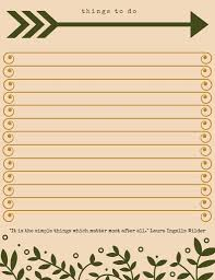 special daily to do list template printable to do list templates