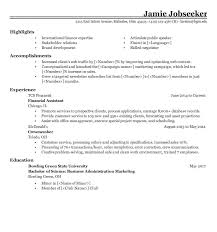 Sample Resume For On Campus Job by Sample Resumes