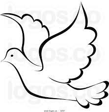 image result for free printable dove template applique