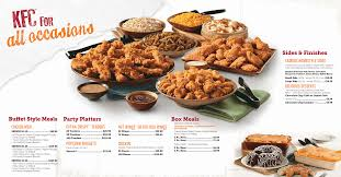 Kfc All You Can Eat Buffet by Kfc Catering Menu Prices Pdf Catering Menu Prices Pinterest