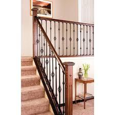 metal stair railing kits home decor modern interior stair railing