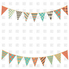 International Bunting Flags Festival Clipart Party Flag Pencil And In Color Festival Clipart