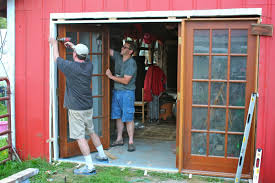 Replacing A Garage Door Replacing Garage Doors With French Doors Home Doors Decoration