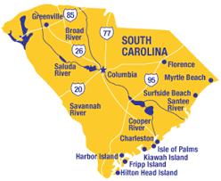 south carolina beaches map best south carolina beaches best grand strand beaches
