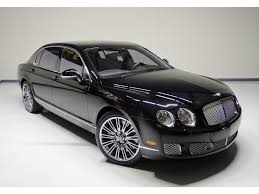 black bentley sedan 2013 bentley continental flying spur speed for sale in nashville