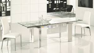 Glass And Chrome Dining Table Dining 2024 1 Glass And Chrome Dining Table 2017 73 Glass And