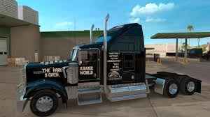 kw w900l for sale jurassic world jurassic park skin for kenworth w900 american