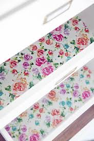 transparent wrapping paper how to utilize gift wrap as drawer liners must try diy