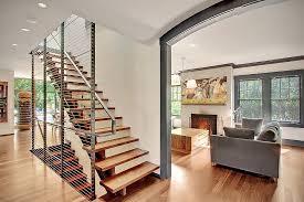 modern house with whimsical artworks seattle washington