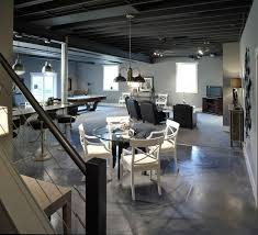 exposed basement ceiling ideas grey exposed basement ceiling