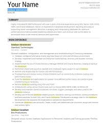 Oracle Experience Resume Sample Sample Resume Business Developer For Construction Nursing