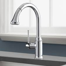 modern polished nickel kitchen faucet u2014 home ideas collection