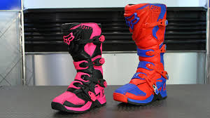 womens motorbike boots fox racing comp 5 boots motorcycle superstore youtube
