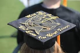 graduation caps decorations grad caps ideas the spending kitchens graduation cap