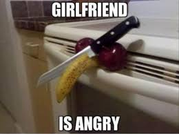Angry Girlfriend Meme - girlfriend is angry meme for facebook comments
