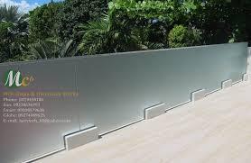mc6 glass u0026 aluminum works balcony frosted glass railing mc6
