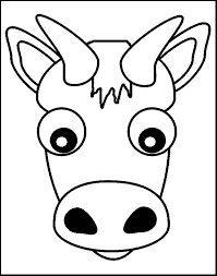 print cow coloring pages kids colouring pages clip art library