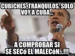 Cuba Meme - los memes tras el paso de obama por cuba