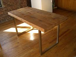 wood table reclaimed wood table 5 steps with pictures