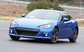 subaru brz matte blue first drive 2013 subaru brz automobile magazine